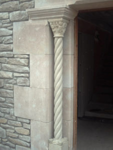 detall brancal porta