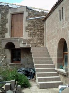 escala, porta i finestres